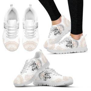 DEER: Stunning Sneakers@ dsk custom deer whitesneakers@sneakers 54900