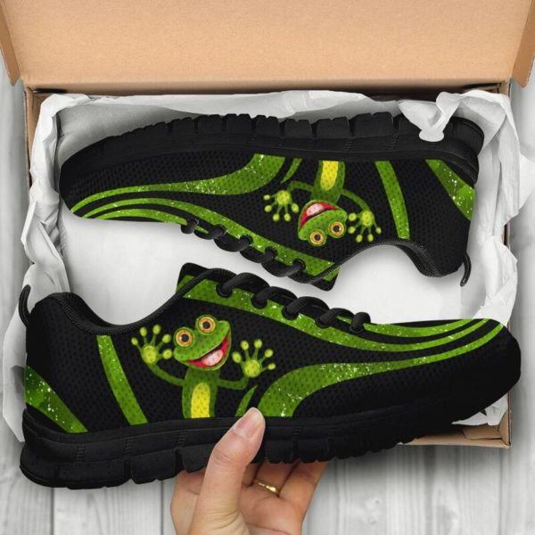 Frog: Awesome Sneakers [A-SC-Frog]@ dsk custom frog shoes@sneakers 53897