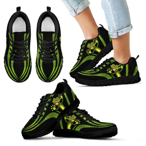 Frog: Awesome Sneakers [A-SC-Frog]@ dsk custom frog shoes@sneakers 53894