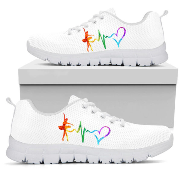 Dance heart color white kd@ danceshoepro Dancesigkj521@sneakers 50378