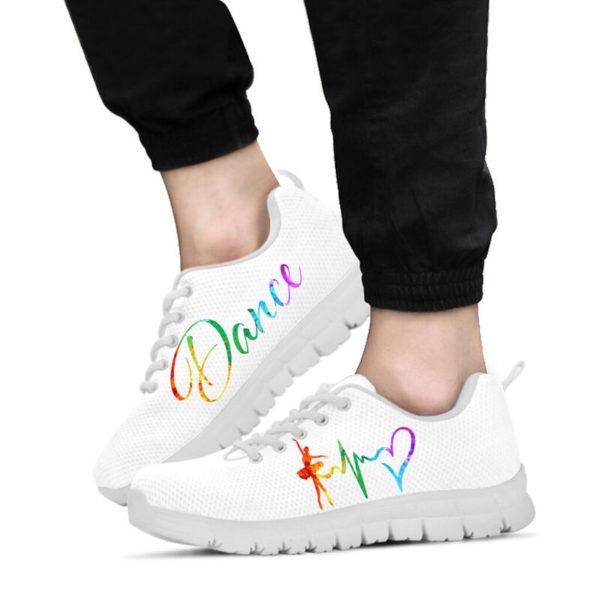 Dance heart color white kd@ danceshoepro Dancesigkj521@sneakers 50377