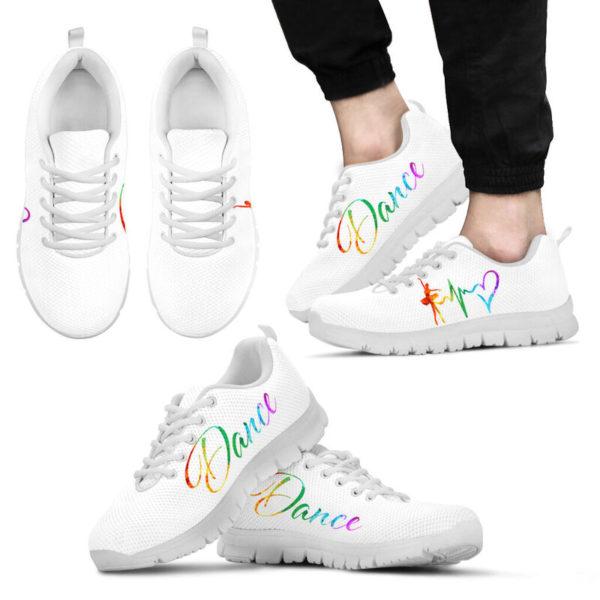 Dance heart color white kd@ danceshoepro Dancesigkj521@sneakers 50376