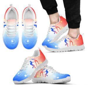 Tap dance red white blue shoes@ danceshoepro tapdanceredwhiteblue0123568@sneakers 48360