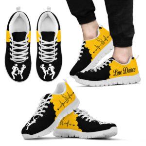 LINE DANCE CL BLACK GOLD@ danceshoepro linelfdph112@sneakers 42398
