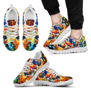 CHICKEN PAINT SHOES@ animalaholic chikdokbgah154256@sneakers 32022