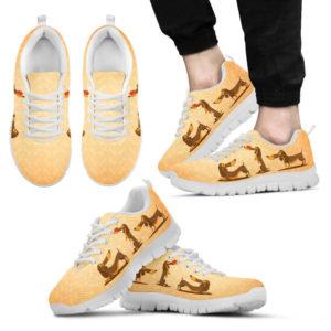 Dachshund BG 3VT SHOES@-animalaholic-dogs3n1@sneakers 16781