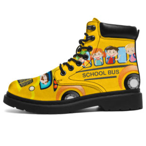 "School Bus AsBoots Sky@ springlifepro schoolbus487hf476@all-season-boots"" 311559"