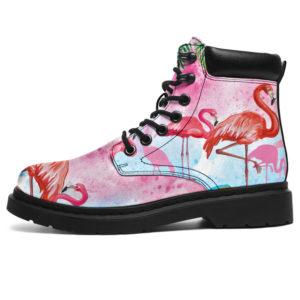 "Love Flamingos All Season Boots@ bonloves flamingos03@all-season-boots"" 311053"