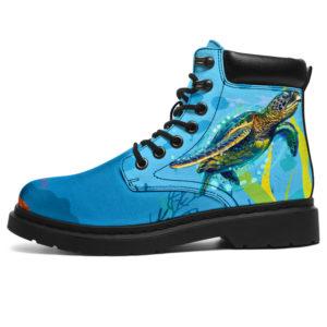 "Sea Turtle All Season Boots@ bonloves sea turtle boots 122@all-season-boots"" 309213"
