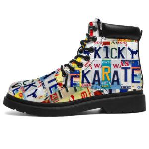 "KARATE LIVE LOVE LICENSE PLATES ASBOOTS@ springlifepro KARATE32SF@all-season-boots"" 307557"