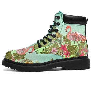"Love Flamingos All Season Boots@ bonloves flamingo02@all-season-boots"" 307511"