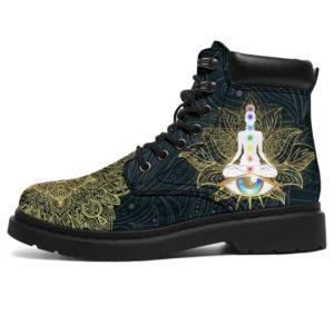"""Buddha Chakra Mandala All Season Boots@ bonloves chakra boots 131@all-season-boots"""" 305671"""