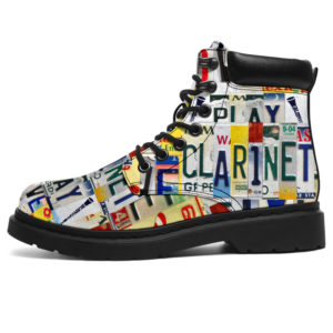 """CLARINET LIVE LOVE LICENSE PLATES ASBOOTS@ springlifepro CLARINET3523@all-season-boots"""" 305349"""