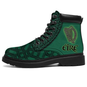 "ÉIRE - IRISH CELTIC HARP ASBOOTS@ springlifepro IR3ISH23df@all-season-boots"" 305119"