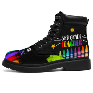 "3rd Grade Teacher - Get Your Crayon boots@ proudteaching 3rdcolor9494@all-season-boots"" 304613"