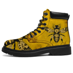 "Bee Sunflower All Season Boots 02@ bonloves bee boots 02@all-season-boots"" 302956"