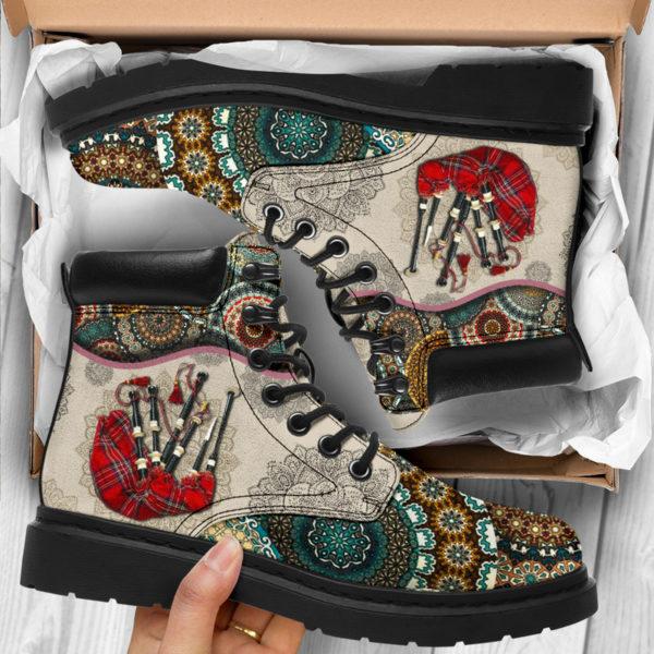 "Bagpipes - Vintage Mandala ASBOOT SKY KD@ springlifepro SDFDSG@all-season-boots"" 302228"