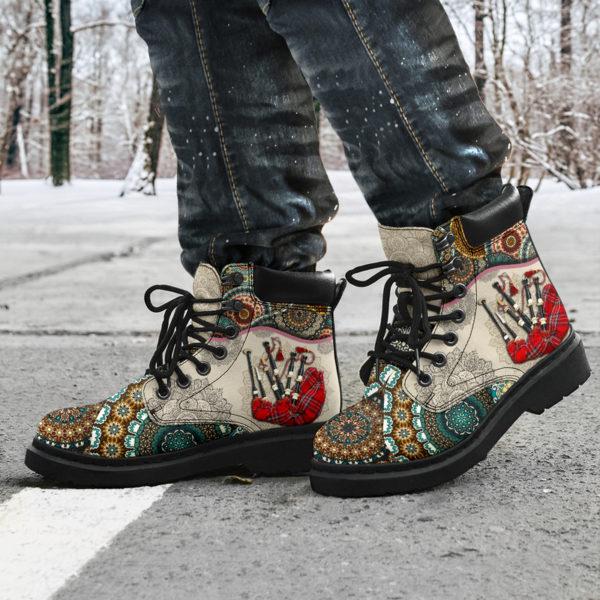 "Bagpipes - Vintage Mandala ASBOOT SKY KD@ springlifepro SDFDSG@all-season-boots"" 302227"