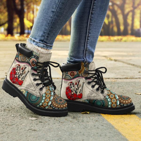 "Bagpipes - Vintage Mandala ASBOOT SKY KD@ springlifepro SDFDSG@all-season-boots"" 302226"
