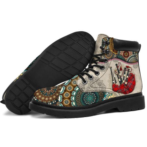 "Bagpipes - Vintage Mandala ASBOOT SKY KD@ springlifepro SDFDSG@all-season-boots"" 302222"