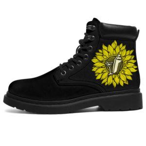 "BARTENDER SUN FLOWER PATTERN ASBOOTS@ springlifepro BARTENDER323@all-season-boots"" 301116"