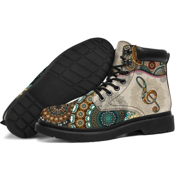 "Music - Vintage Mandala ASBOOT SKY 2@ springlifepro fhfghfh@all-season-boots"" 300888"