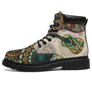 "Guitar classic - Vintage Mandala ASBOOT SKY@ springlifepro GHFGHFG@all-season-boots"" 299920"