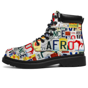 "AFRO LIVE LOVE LICENSE PLATES ASBOOTS@ springlifepro AFROFDS12@all-season-boots"" 299782"