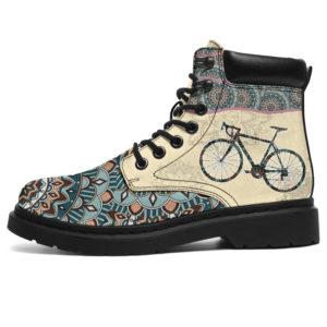 """CYCLING MANDALA BOOTS@ shoppingmylife HJUIIKJUI9OO@all-season-boots"""" 298402"""