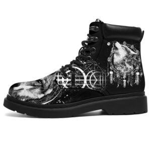 "Love Wolf All Season Boots@ bonloves wolf03@all-season-boots"" 297574"