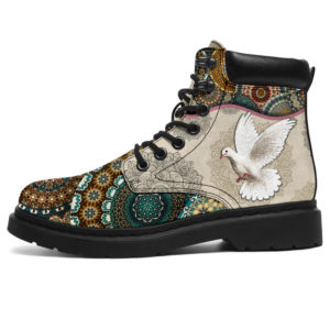 "Dove - Vintage Mandala ASBOOT SKY@ animallovepro dshjkhjkjhk@all-season-boots"" 296792"