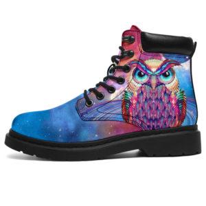 "Owl Planet Galaxy ASBOOTS - NAL@ animallovepro owlplanetglx252@all-season-boots"" 296194"