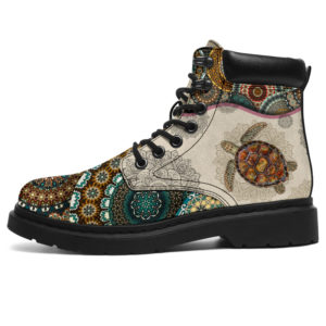 """Turtle - Vintage Mandala ASBOOT@ animallovepro sdasfdf@all-season-boots"""" 295596"""