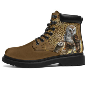 "Owl Celtic Knot asboots@ animallovepro Owl3213sf@all-season-boots"" 294814"