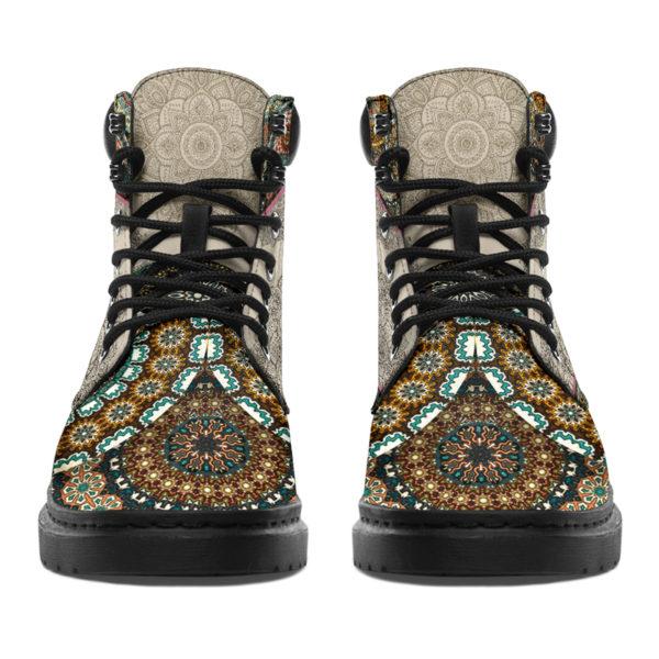 "Dachshund - Vintage Mandala ASBOOT SKY@ animallovepro dfgdg@all-season-boots"" 294726"