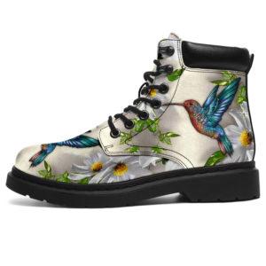 "hummingbird flower asboots LQT@ animallovepro hum83uie@all-season-boots"" 294078"