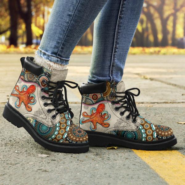 "Octopus - Vintage Mandala ASBOOT@ animallovepro fdgfh@all-season-boots"" 293854"