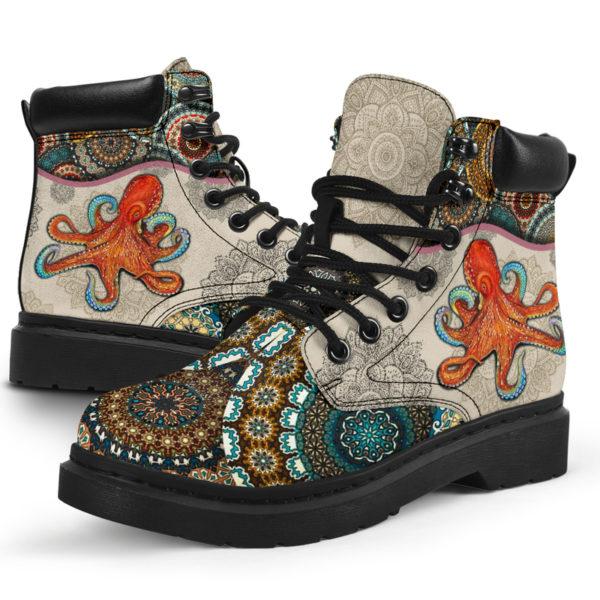 "Octopus - Vintage Mandala ASBOOT@ animallovepro fdgfh@all-season-boots"" 293851"