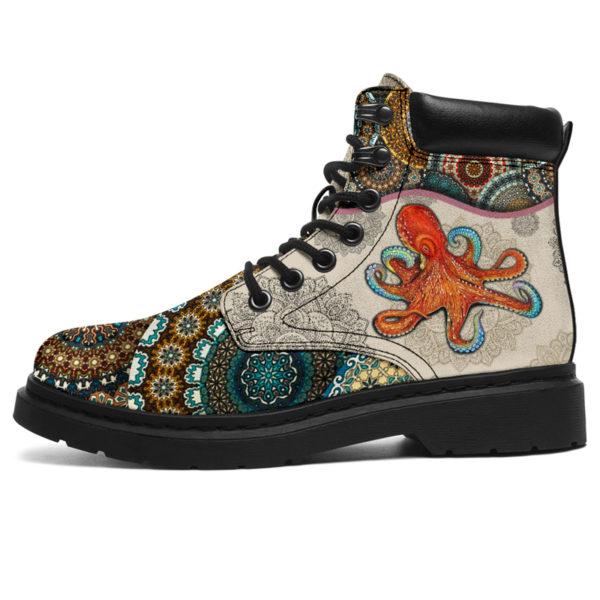 "Octopus - Vintage Mandala ASBOOT@ animallovepro fdgfh@all-season-boots"" 293848"