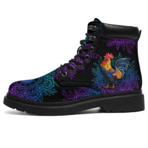 """chicken yin yang mandala asboots LQT@ animallovepro cheu8358@all-season-boots"""" 293663"""