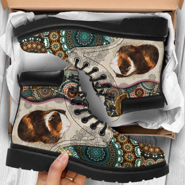 "Guinea pig - Vintage Mandala ASBOOT SKY@ animallovepro FDHFGH@all-season-boots"" 293533"