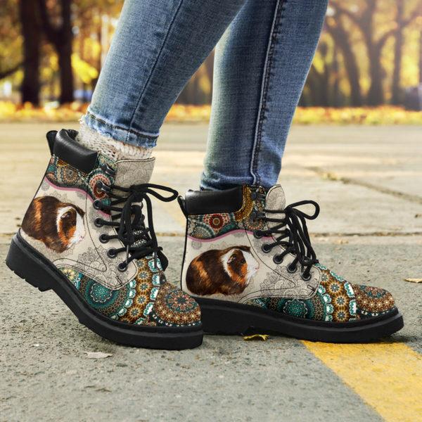 "Guinea pig - Vintage Mandala ASBOOT SKY@ animallovepro FDHFGH@all-season-boots"" 293531"