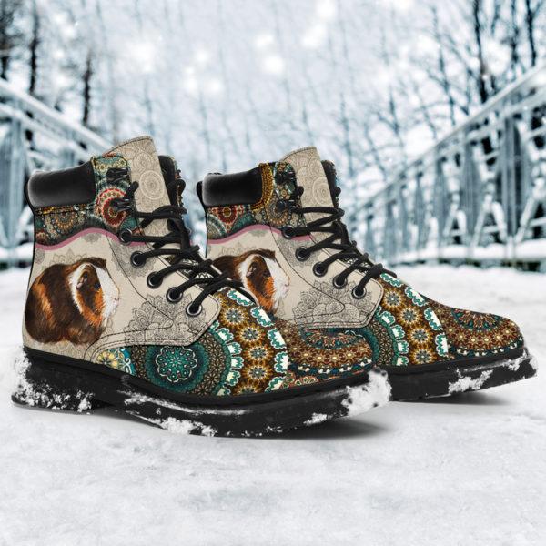 "Guinea pig - Vintage Mandala ASBOOT SKY@ animallovepro FDHFGH@all-season-boots"" 293530"