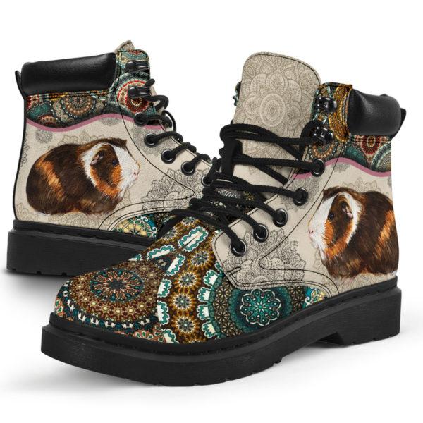 "Guinea pig - Vintage Mandala ASBOOT SKY@ animallovepro FDHFGH@all-season-boots"" 293528"