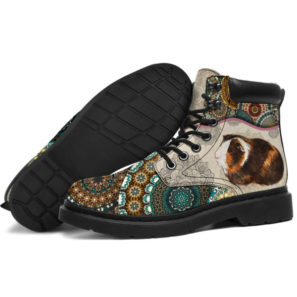 "Guinea pig - Vintage Mandala ASBOOT SKY@ animallovepro FDHFGH@all-season-boots"" 293527"