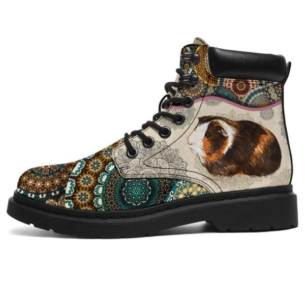 "Guinea pig - Vintage Mandala ASBOOT SKY@ animallovepro FDHFGH@all-season-boots"" 293526"