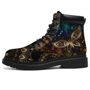 """Butterfly Henna With Watercolor AsBoot - TL@ animallovepro hgfh765678@all-season-boots"""" 293252"""