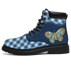 """Butterfly - Embroidery Boots SKY@ animallovepro buttem92839@all-season-boots"""" 291550"""