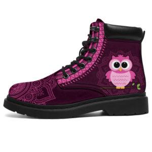 "Owl mandala asboots@ animallovepro Ow767745@all-season-boots"" 289710"