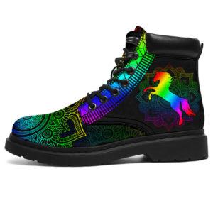 """Horse mandala color ssboots@ animalaholic horsema8738@all-season-boots"""" 288560"""